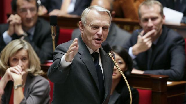 Jean-Marc Ayrault le 25 septembre 2012 à l'Assemblée nationale à Paris [Kenzo Tribouillard / AFP]
