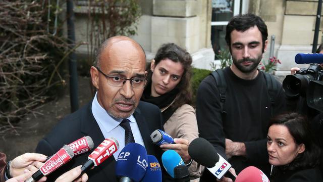 Le socialiste Harlem Désir à Paris le 25 septembre 2012 [Jacques Demarthon / AFP/Archives]