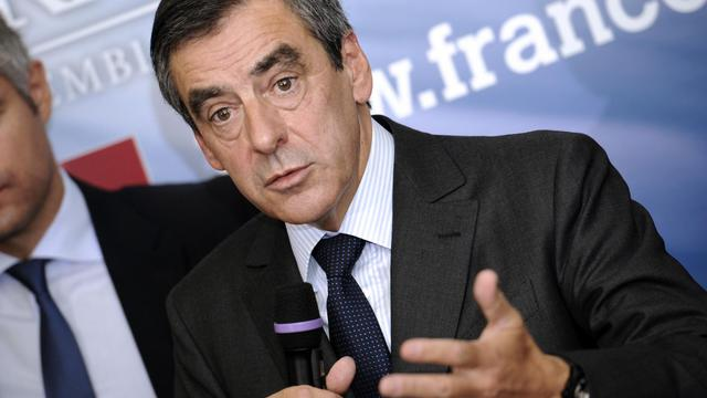 François Fillon, le 26 septembre 2012 à l'Assemblée nationale à Paris [Bertrand Guay / AFP]