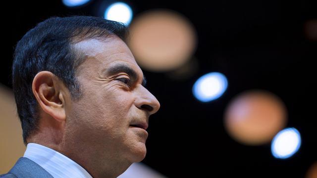 Le PDG de Renault Carlos Ghosn, le 27 septembre 2012 à Paris au Mondial de l'auto [Joel Saget / AFP/Archives]