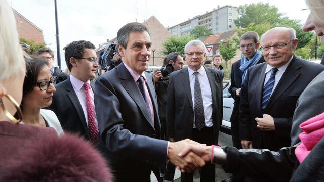 François Fillon le 27 septembre 2012 à Marcq-en-Barœul [Denis Charlet / AFP]