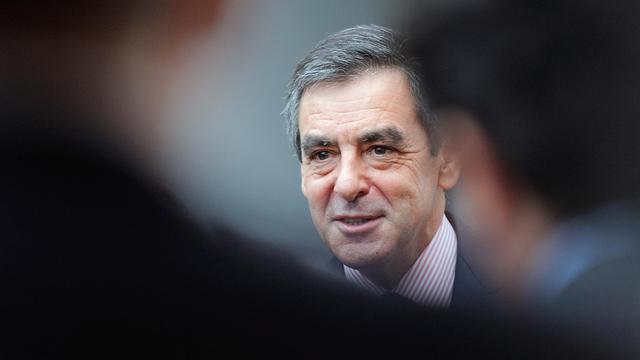 L'ancien Premier ministre François Fillon, le 27 septembre 2012 à Marcq-en-Barœul [Denis Charlet / AFP]
