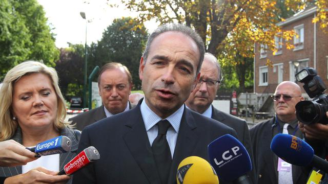 Jean-François Copé le 27 septembre 2012 à Marcq-en-Barœul [Denis Charlet / AFP]