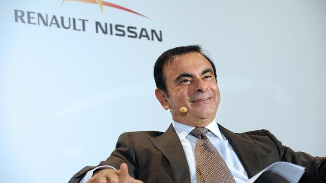 Le PDG de Renault-Nissan Carlos Ghosn, le 28 septembre 2012 au Mondial de l'automobile à Paris [Eric Piermont / AFP/Archives]
