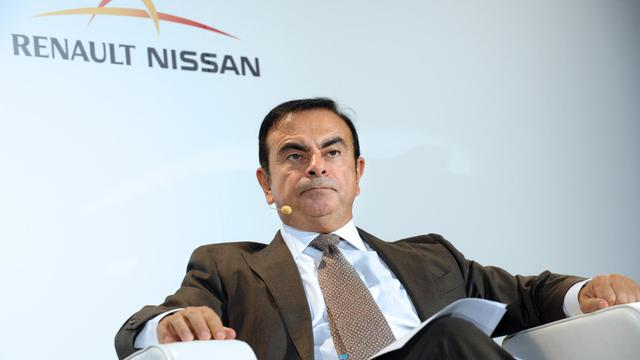 Carlos Ghosn, le 28 septelbre 2012 au Salon de l'Automobile à Paris [Eric Piermont / AFP/Archives]