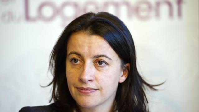 Cécile Duflot, la ministre de l'égalité des territoires, le 28 septembre 2012 à Paris [Lionel Bonaventure / AFP/Archives]