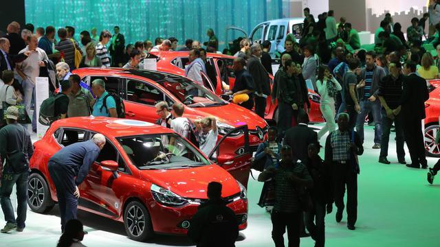 Au Mondial de l'automobile, le 29 septembre 2012 à Paris [Thomas Samson / AFP]