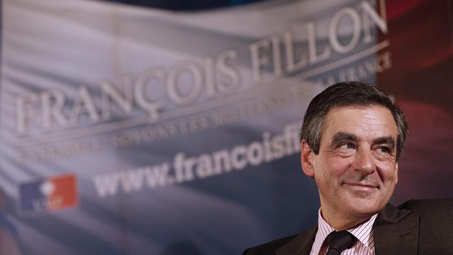 L'ancien Premier ministre François Fillon lors d'une réunion publique le 1er octobre 2012 à Nice [Valery Hache / AFP]