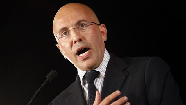 Eric Ciotti livre un discours, le 1er octobre 2012 à Nice [Valery Hache / AFP/Archives]