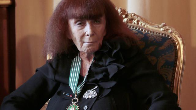 La créatrice de mode Sonia Rykiel, le 2 octobre 2012 à Paris [Jacques Demarthon / AFP]