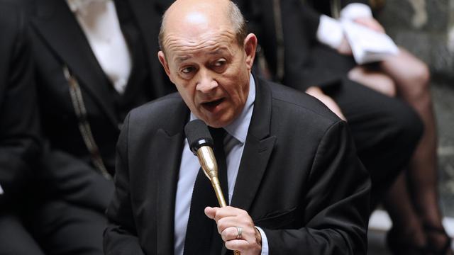 Le ministre de la Défense Jean-Yves Le Drian, le 2 octobre 2012 à Paris [Lionel Bonaventure / AFP/Archives]