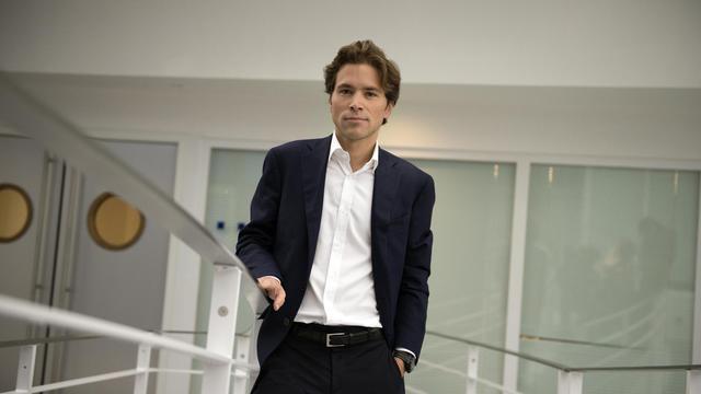 Geoffroy Didier, le 6 octobre 2012 à Paris [Lionel Bonaventure / AFP]