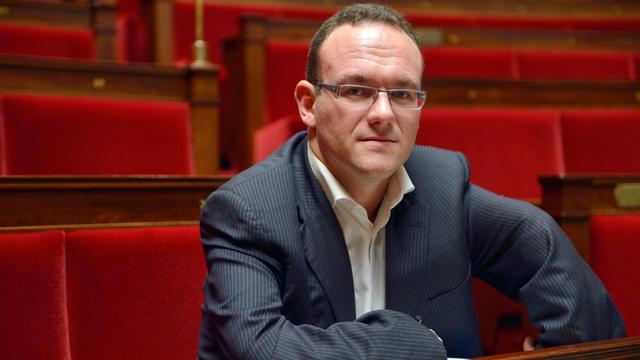 Damien Abad le 9 octobre 2012 à l'Assemblée nationale à Paris [Eric Feferberg / AFP/Archives]