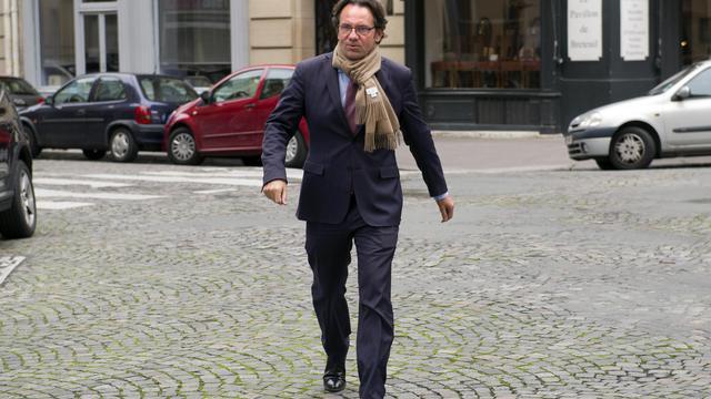 Frédéric Lefebvre (UMP) le 9 octobre 2012 à Paris [Lionel Bonaventure / AFP/Archives]