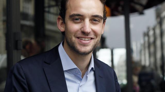 L'auteur suisse Joël Dicker, le 11 octobre 2012 à Paris [Patrick Kovarik / AFP/Archives]