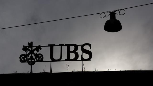 Le logo de la banque UBS [Fabrice Coffrini / AFP/Archives]