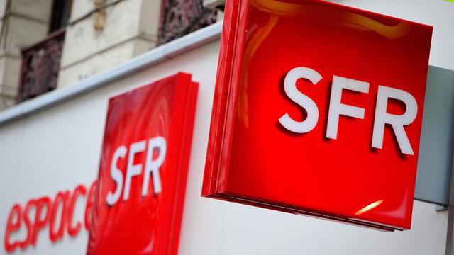 Logo SFR, le 15 octobre 2012