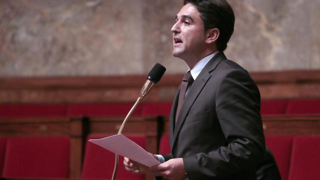 Le député UMP de la Marne Arnaud Robinet, le 23 octobre 2012 à l'Assemblée nationale à Paris [Jacques Demarthon / AFP/Archives]