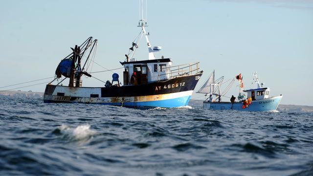 Des pêcheurs au large de Quiberon le 30 octobre 2012 [Fred Tanneau / AFP/Archives]