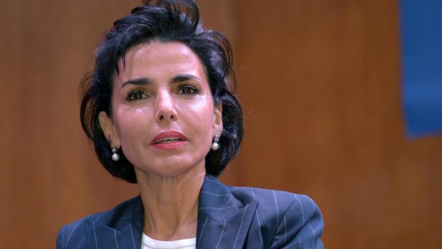 L'ancienne ministre française de la Justice, Rachida Dati, le 8 novembre 2012 à Paris [Bertrand Guay / AFP/Archives]
