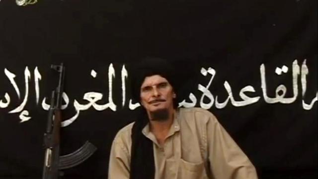 Photo de Gilles Le Guen (Abdel Jelil) tirée d'une vidéo du site de l'agence mauritanienne Sahara Media, le 9 octobre 2012 [ / Sahara Media/AFP/Archives]
