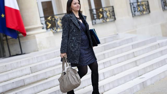 Cécile Duflot, ministre du Logement, le 14 novembre 2012 à L'Elysée, à Paris [Lionel Bonaventure / AFP/Archives]