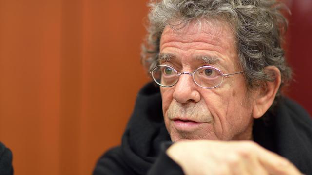 Le chanteur américain Lou Reed, le 14 novembre 2012 à Paris [Eric Feferberg / AFP/Archives]