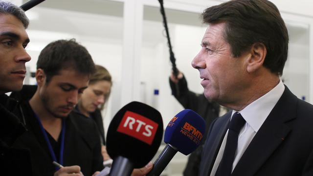 Le député-maire de Nice Christian Estrosi, le 19 novembre 2012 à Paris [Kenzo Tribouillard / AFP/Archives]