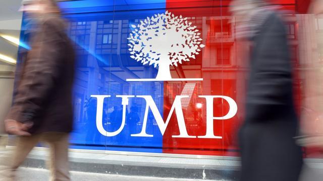 Le siège de l'UMP, à Paris [Miguel Medina / AFP/Archives]