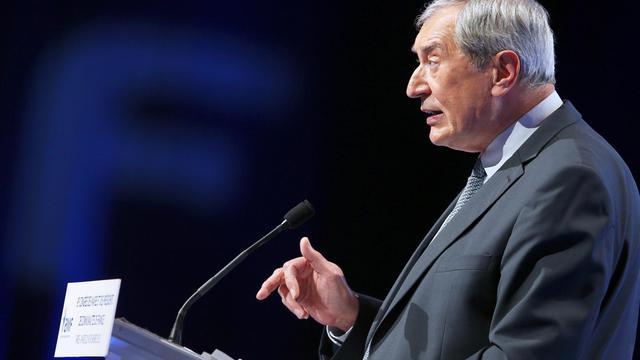 Jacques Pélissard, le 20 novembre 2012 à Paris [Kenzo Tribouillard / AFP/Archives]