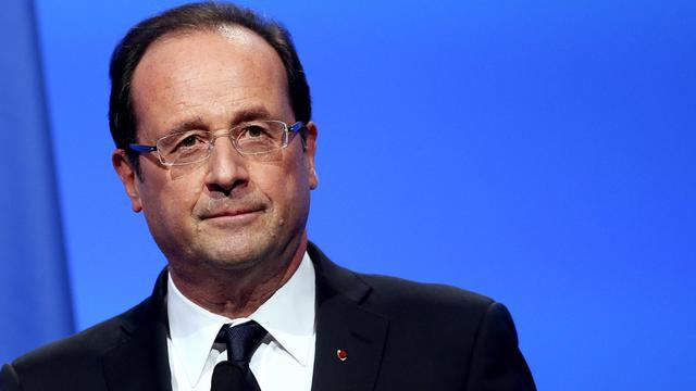 François Hollande, le 20 novembre à Paris [Kenzo Tribouillard / AFP/Archives]