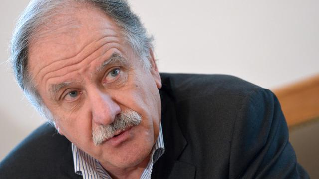 Le député EELV Noël Mamère s'exprime à l'Assemblée nationale, le 21 novembre 2012 à Paris [Miguel Medina / AFP/Archives]