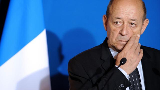 Le ministre de la Défense, Jean-Yves Le Drian, le 23 novembre 2012 à Lorient [Fred Tanneau / AFP/Archives]