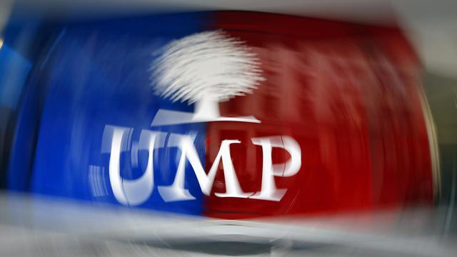 Le logo de l'UMP [Kenzo Tribouillard / AFP/Archives]