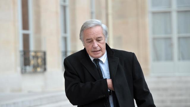 Le président des sénateurs PS, François Rebsamen, le 26 novembre 2012 à Paris [Bertrand Langlois / AFP/Archives]