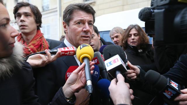 Le député-maire de Nice, Christian Estrosi, le 27 novembre 2012 à Paris [Thomas Samson / AFP/Archives]