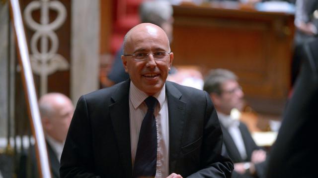 Le député UMP Eric Ciotti, le 28 novembre 2012 à l'Assemblée nationale à Paris [Martin Bureau / AFP/Archives]