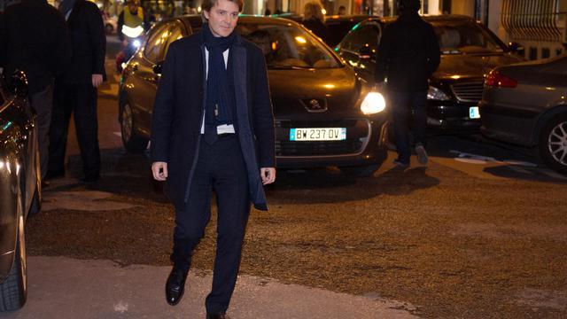 François Baroin, le 3 décembre 2012 à Paris