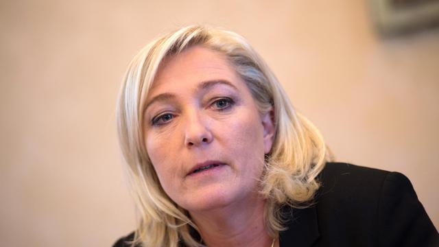 La présidente du FN, Marine Le Pen, le 4 décembre 2012 à Paris [Martin Bureau / AFP/Archives]