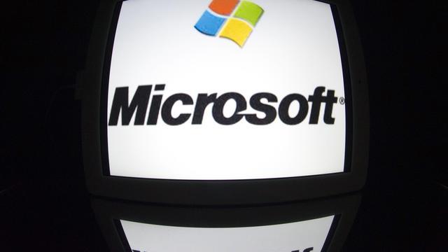 Logo de Microsoft [Lionel Bonaventure / AFP/Archives]