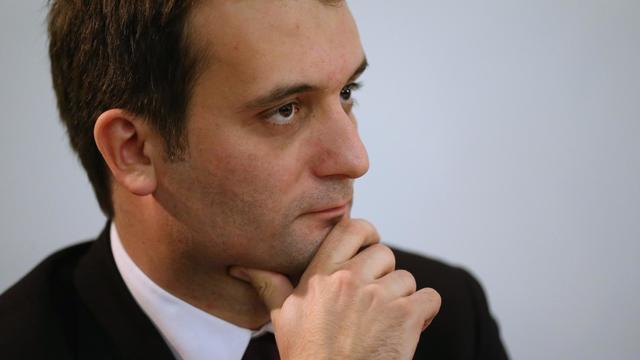 Le vice-président du Front national, Florian Philippot, le 8 décembre 2012 à Sèvres [Thomas Samson / AFP/Archives]