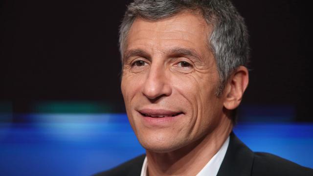 Le présentateur de France Télévisions, Nagui, lors du Téléthon, le 8 décembre 2012 à Saint-Denis [Thomas Samson / AFP/Archives]