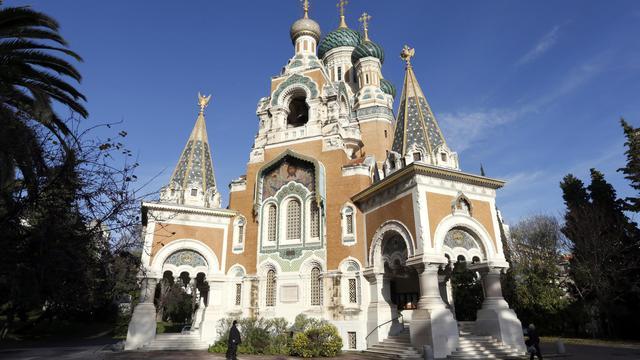La cathédrale orthodoxe de Nice [Valery Hache / AFP/Archives]