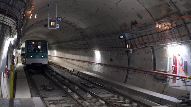 Un tunnel du métro parisien [Joel Saget / AFP/Archives]
