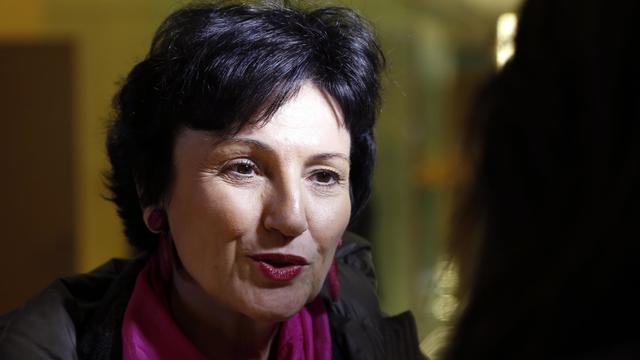 La ministre déléguée chargée de la Famille, Dominique Bertinotti, le 18 décembre 2012 à Paris [François Guillot / AFP/ARchives]