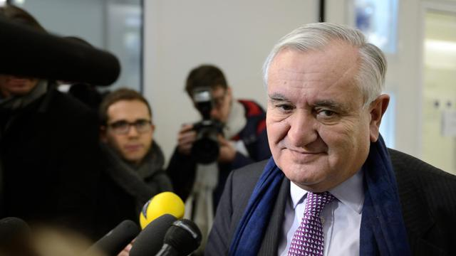 Jean-Pierre Raffarin le 19 décembre 2012 à Paris [Eric Feferberg / AFP/Archives]
