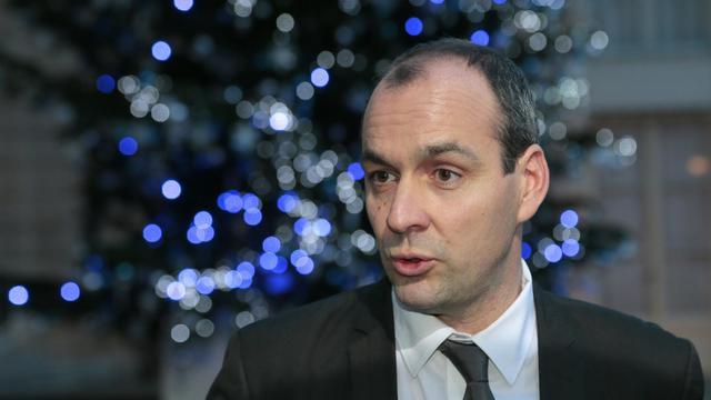 Le numéro un de la CFDT Laurent Berger, le 21 décembre 2012 à Paris [Jacques Demarthon / AFP/Archives]