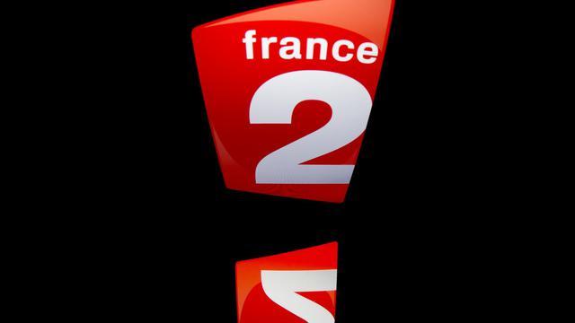 Le logo de la chaine France 2 [Lionel Bonaventure / AFP]