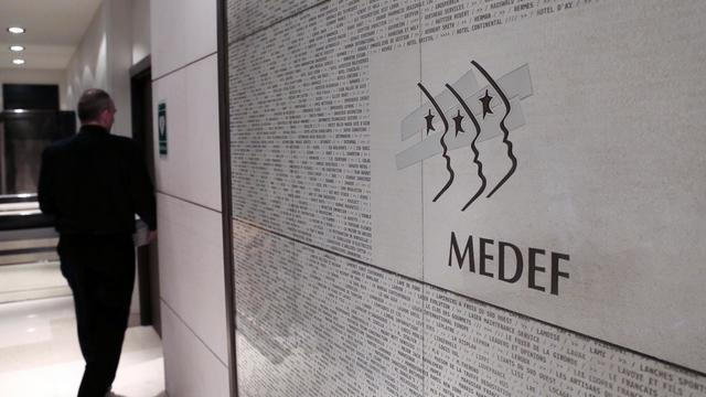 Logo du Medef [Jacques Demarthon / AFP/Archives]