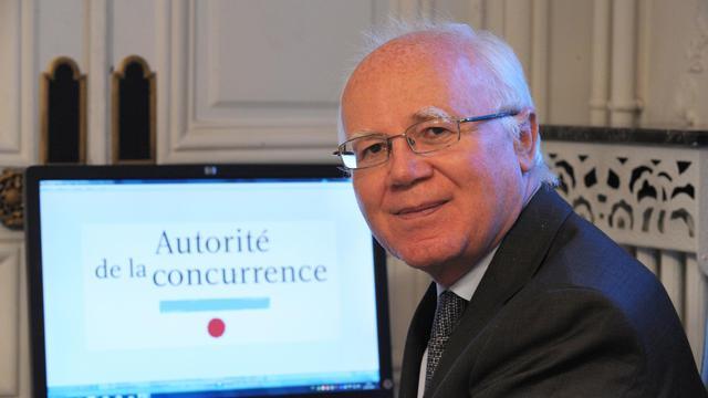 Le président de l'Autorité de la Concurrence, Bruno Lasserre, le 11 janvier 2013 dans son bureau à Paris [Eric Piermont / AFP/Archives]